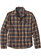 Patagonia M's Lightweight Fjord LS Flannel Shirt Navigate: Tapenade